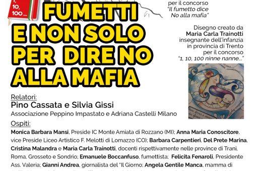 Fumetti e non solo per dire no alla mafia